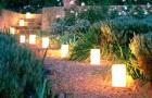 Проектирование освещения сада