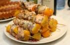 Шашлык из говядины по-тувински