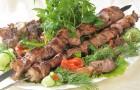 Шашлык охотничий из мяса кабана с кедровыми орехами