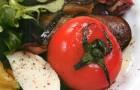 Блюда из разных овощей