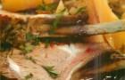 Чанахи из баранины с овощами