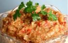 Икра из сладкого болгарского перца