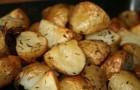 Картофель, запеченный с чесноком и тимьяном