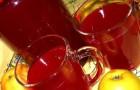 Компот из быстро замороженных фруктов и ягод