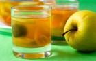 Компот из тыквы и яблок