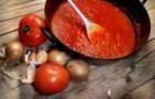 Красный соус с овощами и кореньями по-французски