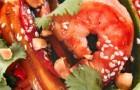 Креветки по-тайски с соусом из лайма