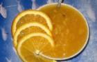 Мандариновый джем из моркови