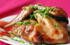 Маринад из соевого соуса для птицы