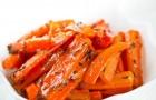 Морковь, запеченная с орехами