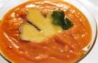 Морковно имбирный суп