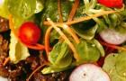 Пикантный салат из телятины в восточном стиле