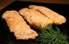 Рыба, жареная в кунжуте