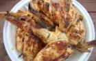 Шашлык из куриных субпродуктов