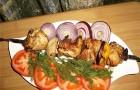 Шашлык из курицы «Азиатский»