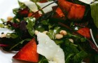 Салат с печеной тыквой и кедровыми орешками