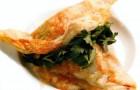 Слоеные пирожки с овощами, сыром и телятиной