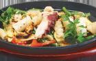 Соус с грибами и морепродуктами