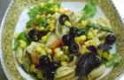 Стручковая фасоль с маслинами