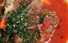 Суп из оссо-буко с гремолатой