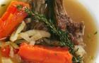 Суп из ягненка с фенхелем