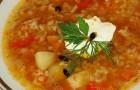 Суп картофельный с рисом