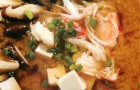 Суп мисо с грибами шиитаке и крабом