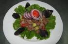 Телячьи ребрышки с печеными овощами (аджапсандал)