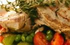 Телятина в пряном бульоне с хрустящими овощами