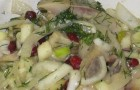 Яблочно-огуречный маринад