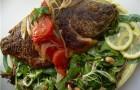 Жареный карп в томатном соусе