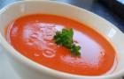 Заправка из йогурта с томатным соком