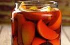 Наливка вишнево-апельсиновая