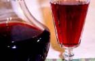 Вино малиново-вишневое