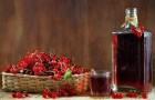 Вино смородиновое красное (второй вариант)