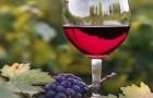 Вино виноградное полусладкое