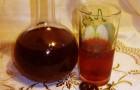 Вино вишнево-медовое