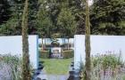 Проект сада «Синяя тема»