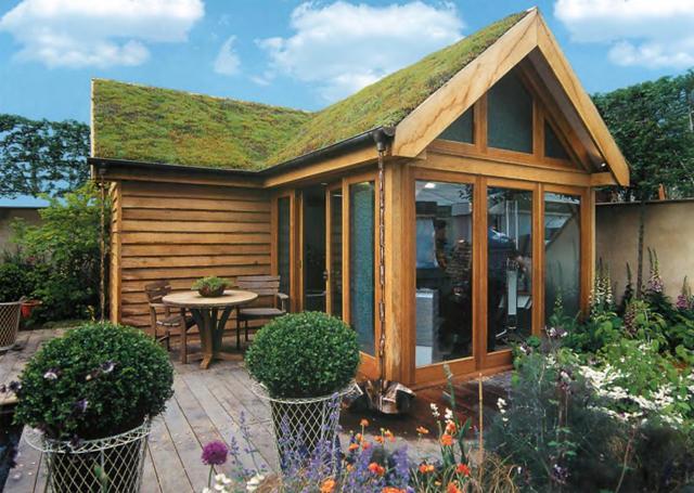 Проект сада «Офис в саду»