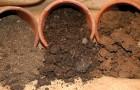Емкости из питательных почвенных смесей для рассады