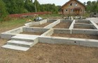 Создание бетонных фундаментов