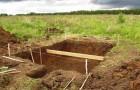 Строительство заглубленного погреба