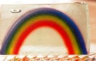 Мыло в виде радуги