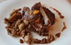 Бараньи отбивные с соусом из портвейна