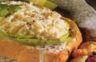 Бутерброды с крабами