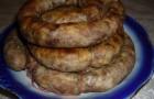 Ливерная колбаса гусиная