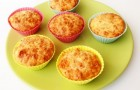 Маффины с помидорами и козьим сыром