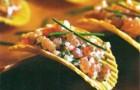 Острые гребешки с соусом из васаби и сакэ