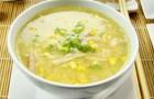 Суп с кукурузой и карри