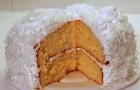 Торт со свежим кокосом